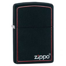 Classic Black and Red Zippo Lighter